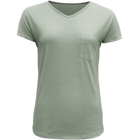 Devold Herdal - Camiseta manga corta Mujer - verde